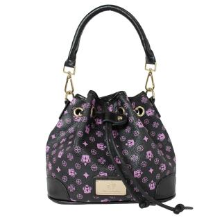 【Dennibella 丹妮貝拉】紫色皇冠時尚甜美抽繩包(4D115107-7)