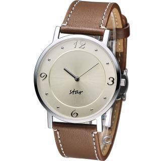 【STAR】時代 時光閣樓時尚腕錶(9T1407-431S-YG)