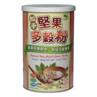 【天然磨坊】松子堅果多穀粉450g-罐