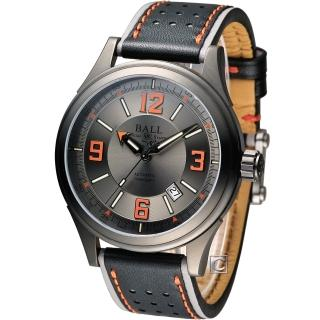 【BALL】WATCH Engineer 隱形戰機 機械腕錶(NM3098C-L1J-GYOR)