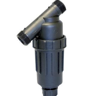 【灑水達人】美國DIG 3/4吋尼龍網155mesh更細的目數滴灌專用灌溉用過濾器(黑)
