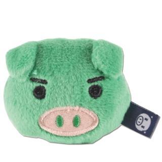 【UNIQUE】可愛豬造型磁鐵(綠色)
