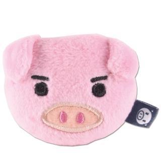 【UNIQUE】可愛豬造型磁鐵(粉紅色)