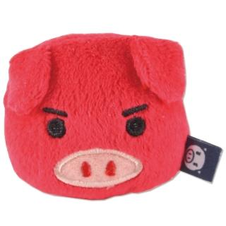 【UNIQUE】可愛豬造型磁鐵(紅色)