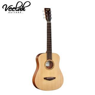 【VEELAH】TOGO-S 雲杉單板旅行木吉他(攜帶方便彈奏表演練習)