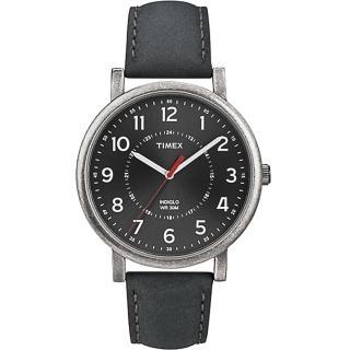 【TIMEX】復刻系列潮流運動時尚腕錶-黑(T2P219)