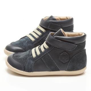 【Old Soles】澳洲頂級真皮高筒手工童鞋(藍301)
