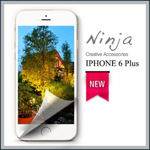 【東京御用Ninja】iPhone 6 Plus專用5.5吋高透防刮無痕螢幕保護貼