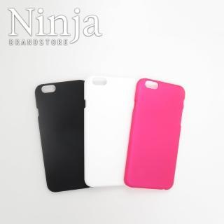 【東京御用Ninja】iPhone 6精緻磨砂4.7吋保護硬殼