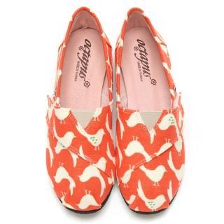 【童鞋城堡】八爪魚女款小白鴿懶人鞋休閒鞋(W5008)