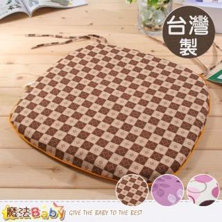 【魔法Baby】台灣製涼蓆面椰棕餐椅墊(id184)