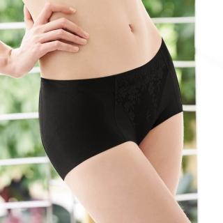 【曼黛瑪璉】2014AW低腰平口無痕褲M-XL(黑)
