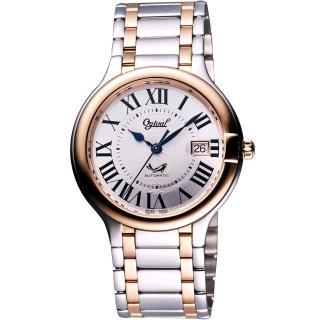 【Ogival】愛其華 旗艦典華機械腕錶-半金/40mm(3832ACMSR)