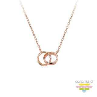 【彩糖鑽工坊】桃樂絲 Doris系列 玫瑰金項鍊(925純銀鍍玫瑰金 HAG-PS13)