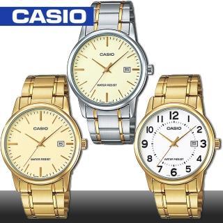 【CASIO 卡西歐】日系-貴氣時尚紳士男錶(MTP-V002G_MTP-V002SG)