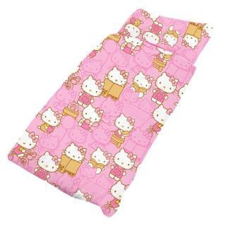 【享夢城堡】HELLO KITTY 生活日誌系列-鋪棉兩用兒童睡袋