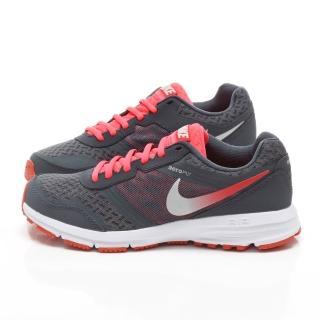 【NIKE】女款AIR RELENTLESS 輕量路跑運動鞋(684042002-灰白)