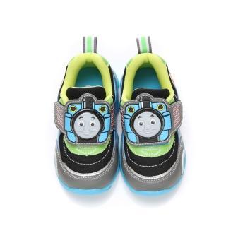 【童鞋城堡】湯瑪士中童火車頭LED電燈運動鞋(TH50097-灰)