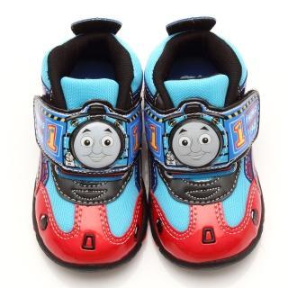【童鞋城堡】湯瑪士中童LED電燈運動鞋(TH86061-藍)