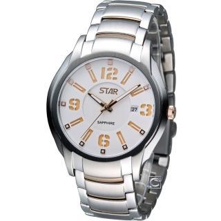 【STAR】時代 舞力全開潮流腕錶(1T1407-251RG-W)