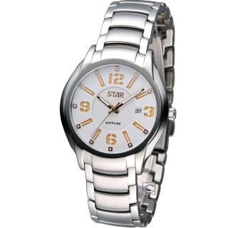 【STAR】時代 時尚摩登仕女腕錶(1T1407-151RG-W)