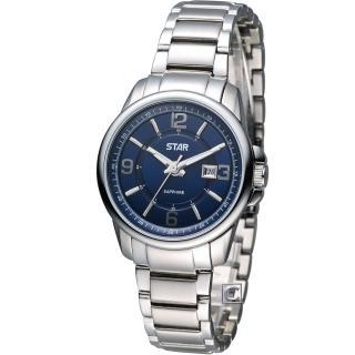 【STAR】時代 花舞時尚仕女腕錶(1T1407-131S-B)