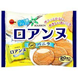 【Bourbon北日本】香草法蘭酥(20枚入)