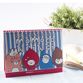 2015年momo co年曆