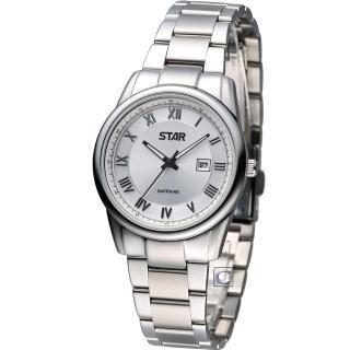 STAR 時代 時尚摩登仕女腕錶(1T1407-111S-S)