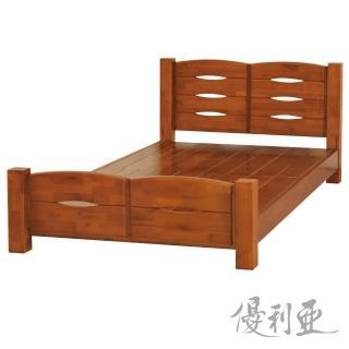 【優利亞-弗朗基】雙人5尺實木床架