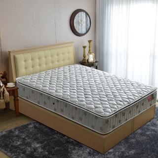 【睡芝寶】正三線-竹碳紗-蜂巢獨立筒床墊(雙人5尺)