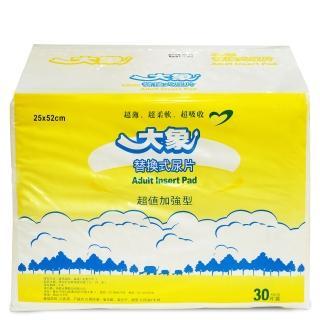 【大象】平面替換式尿片(30片x6包/箱)