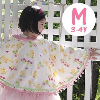 【美國 Peri】純手工 刷毛斗篷披風外套 M號 3-4Y