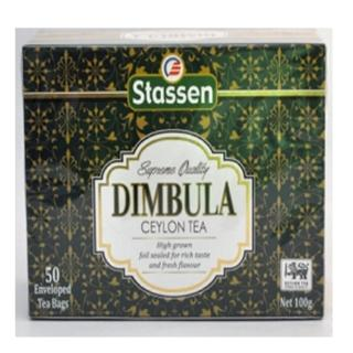 【司迪生】汀布拉頂級莊園紅茶(50茶袋-盒)