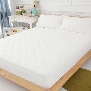 【LAMINA】奈米銀抗菌雙人床包式三件式保潔墊