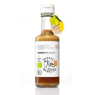 【大地】日本有機胡麻柚子和風醬(175毫升)