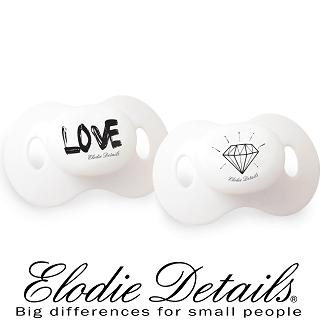【瑞典ELODIE DETAILS】雙入安撫奶嘴組(Diamond LOVE)