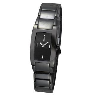 【Canody】迷人曲線時尚流行腕錶(黑-18*30mm-CLB5587-A)
