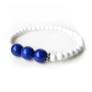 【ZenKi原氣晶品】8mm天然青金石小雅串珠手環