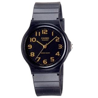 【CASIO 卡西歐】極簡時尚指針石英錶(MQ-24-1B2LDF)