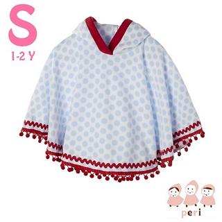 【美國 Peri】純手工 刷毛斗篷披風外套 - 俏皮泡泡(S號)