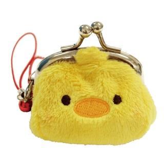 【UNIQUE】動物樂園迷你珠扣零錢包(小雞)