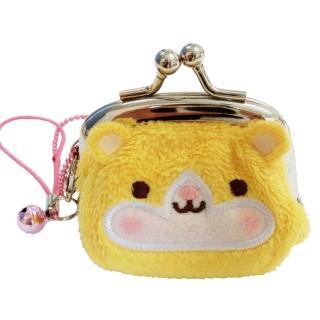 【UNIQUE】動物樂園迷你珠扣零錢包(小倉鼠)