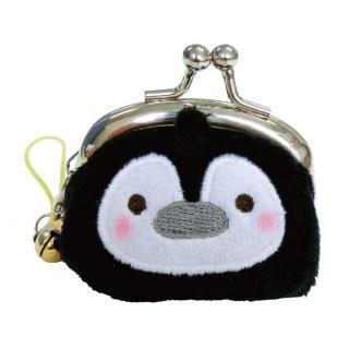 【UNIQUE】動物樂園迷你珠扣零錢包(企鵝君)