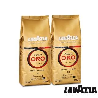 【LAVAZZA】QUALITA ORO 咖啡豆(250g X 2包入)