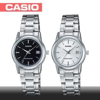 【CASIO 卡西歐】送禮首選-簡約氣質女錶(LTP-V002D)