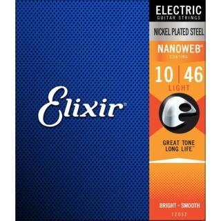 【Elixir】NANOWEB EXXG-12052 電吉他套弦 10-46