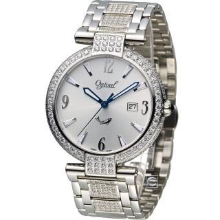 【Ogival】愛其華 時刻精粹大器腕錶(3862DMW)