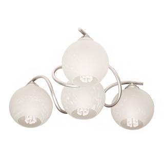 【華燈市】莫札特樂章3+1燈半吸頂燈(優雅曲線造型設計款)