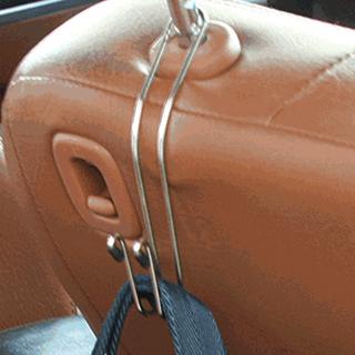 汽車椅背多功能便利掛勾-4入
